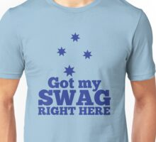 GOT MY SWAG right here in blue with Australian Southern Cross Unisex T-Shirt