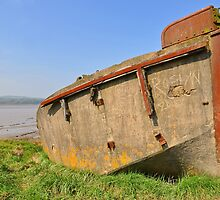 Ships Graveyard, The Hulks At Sharpness, Gloucestershire, UK by Nick  Gill