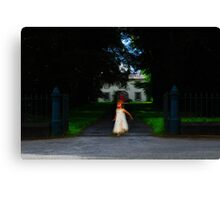 Child of the manor Canvas Print