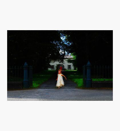 Child of the manor Photographic Print