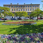 Regency Terrace, Cheltenham, Gloucestershire, England by Nick  Gill