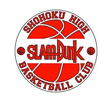 Shohoku High Basketball Club Logo Photographic Print