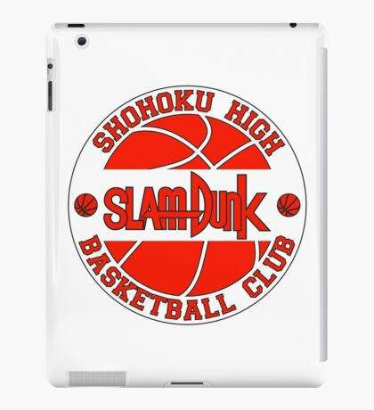 Shohoku High Basketball Club Logo iPad Case/Skin
