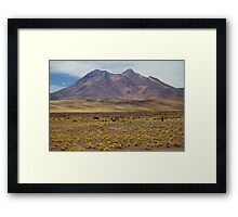 Atacama Landscape Framed Print
