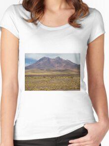 Atacama Landscape Women's Fitted Scoop T-Shirt