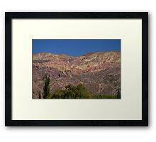 Purmamarca Landscape Framed Print