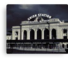 """""""Union Station"""" Denver, CO Canvas Print"""
