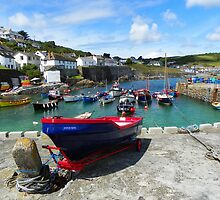 Coverack Cove, Cornwall by hootonles