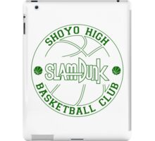 Shoyo High Basketball Club Logo iPad Case/Skin