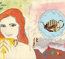 The Sacred Time For Tea by Natalia Melgar