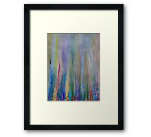 Water venting through Volcanic Minerals Framed Print