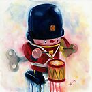 Toy Soldier- vintage by Deborah Cauchi