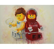 Lego figures, game, set & match Photographic Print