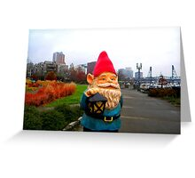 City Park Gnome Greeting Card