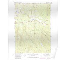 USGS Topo Map Oregon Austin 278900 1972 24000 Poster