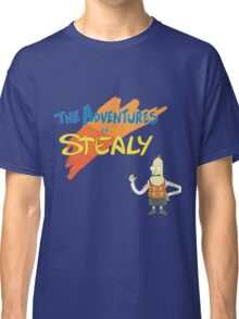 Rick and Morty: The Adventures of Stealy w/Stealy Classic T-Shirt
