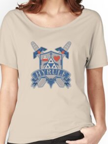 Hyrule Shield Women's Relaxed Fit T-Shirt