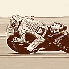 Valentino Rossi VR 46 by Robert Wright