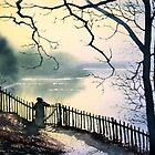 Waterloo Lake, Roundhay Park, Leeds by Glenn Marshall