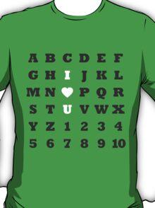 ABC Love - Dark T-Shirt