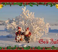 Doily - Christmas motive3 by Maj-Britt Simble