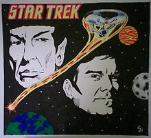 Star Trek Image In Ink & Pencil by chrisjh2210