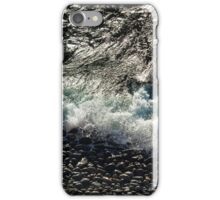 Wintry waves iPhone Case/Skin