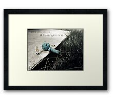 A Little Drunk Framed Print