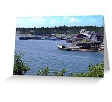 Bush Island-Nova Scotia Greeting Card