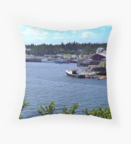 Bush Island-Nova Scotia Throw Pillow