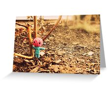Staying Strong Greeting Card