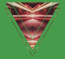 Geometric Street Night Light (HDR Photo Art) XTFORCE-TB One Piece - Short Sleeve