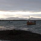 """""""Boat at rest"""" Clew Bay,,Co, Mayo,Ireland by Pat Duggan"""