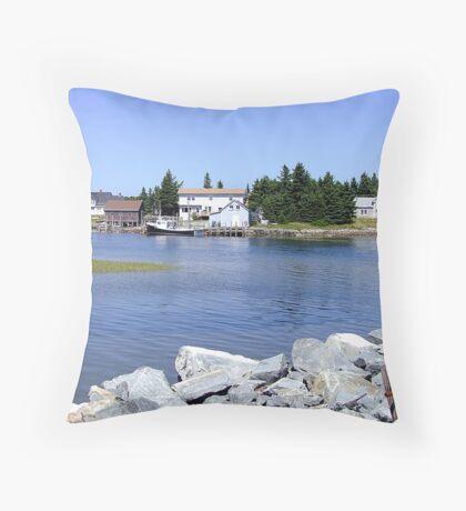 Bush Island (2) Throw Pillow