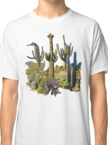 Giant Saguaros of the Sonoran Desert Classic T-Shirt