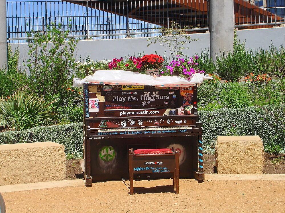 Whimsical Piano by Yajhayra Maria