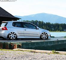 VW MKV Gti on Bentley's by TomJungbluth