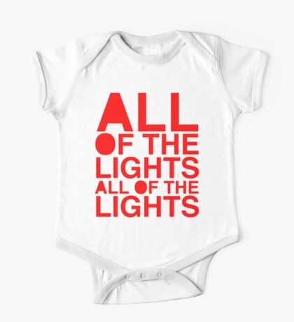 All Of The Lights One Piece - Short Sleeve