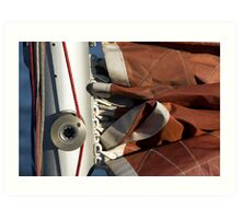 Furled Sail Art Print