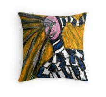 A crying clown Throw Pillow