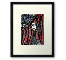 ......In waiting Framed Print