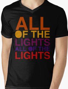 All of the Lights Color Mens V-Neck T-Shirt