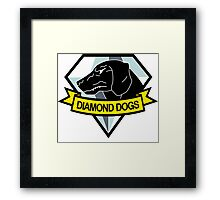 Diamond Dogs Framed Print