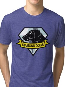 Diamond Dogs Tri-blend T-Shirt