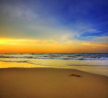 Sunset Vertorama at Seri Kenangan Beach by attiev