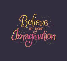 Believe in Your Imagination Womens Fitted T-Shirt