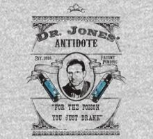Dr. Jones' Antidote- Indiana Jones Kids Clothes
