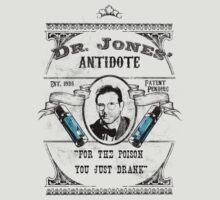 Dr. Jones' Antidote- Indiana Jones T-Shirt