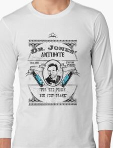 Dr. Jones' Antidote- Indiana Jones Long Sleeve T-Shirt