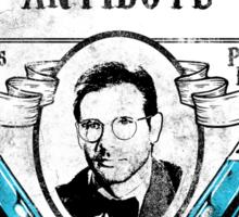 Dr. Jones' Antidote- Indiana Jones Sticker